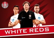 THE WHITEREDS ARE READY! ABO-KAMPAGNE GESTARTET