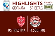 Highlights Triestina - FC Südtirol