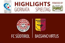 Highlights FC Südtirol - Bassano