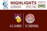 Highlights Gubbio - FC Südtirol