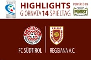 Highlights FC Südtirol - Reggiana 1-1