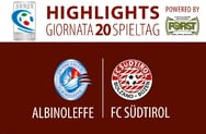 HIGHLIGHTS ALBINOLEFFE - FC SÜDTIROL 1:1