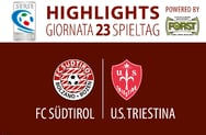 HIGHLIGHTS FC SÜDTIROL - TRIESTINA 2:1