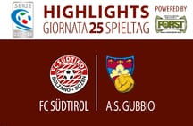 Highlights FC Südtirol - Gubbio 1:2