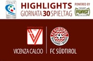 Highlights Vicenza - Südtirol 0:1