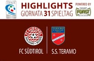 Highlights FC Südtirol - Teramo 1:0