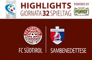 Highlights Südtirol - Sambenedettese 1-1