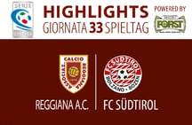 Highlights Reggiana - FC Südtirol 2:1