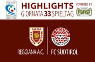 Highlights Reggiana - FC Südtirol 2-1