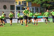 Training im Drusus-Stadion