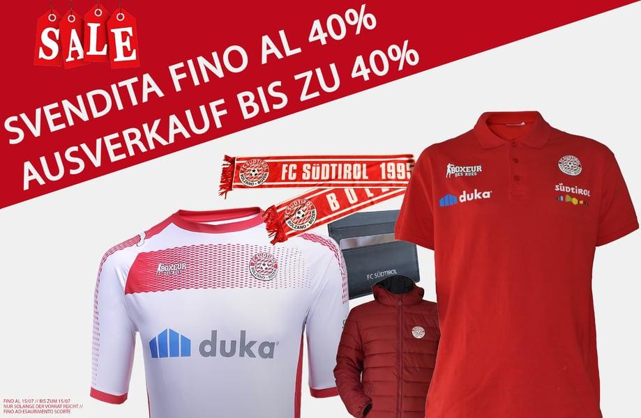 04f106d4c137 ALLES MUSS RAUS! AUSVERKAUF BIS ZU 40%! - FC Südtirol - Alto Adige