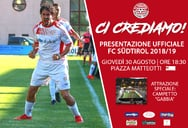 FC SÜDTIROL IN THE CITY: HAPPENING SERALE A BOLZANO PER I TIFOSI