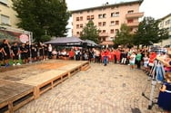 FC Südtirol in the City: happening for the fans